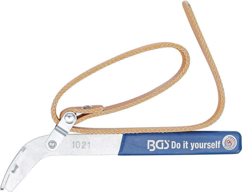 BGS 1021 Ölfilter Bandschlüssel Ölwechselschlüssel Ölfilter wechseln