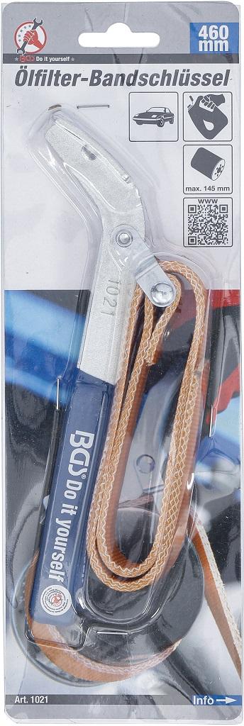 Ölfilter Bandschlüssel Ölwechselschlüssel Ölfilter wechseln BGS 1021