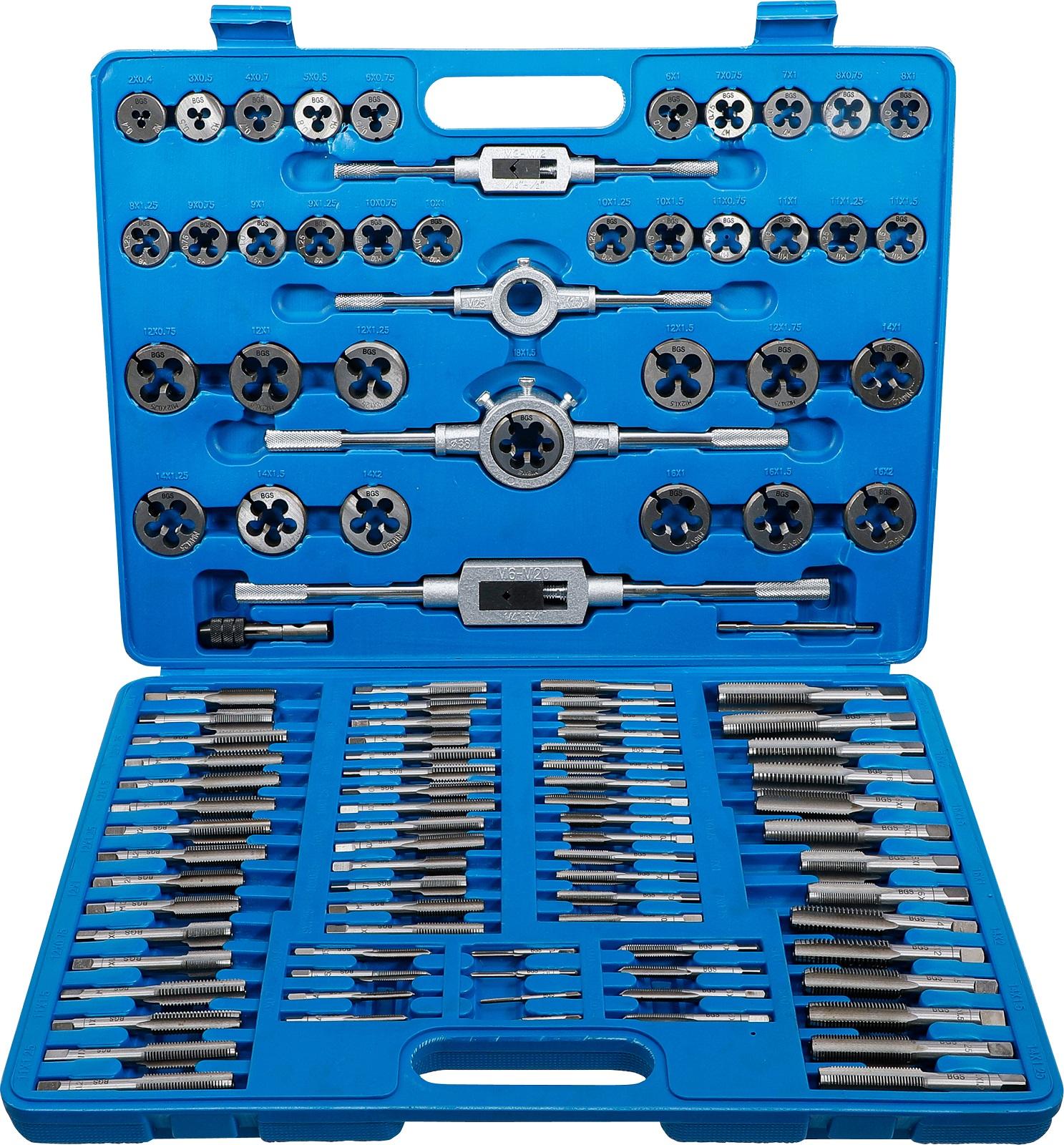 Gewindeschneider Satz 110-tg Fein Gewinde Bohrer  Metrisch Werkzeug Set