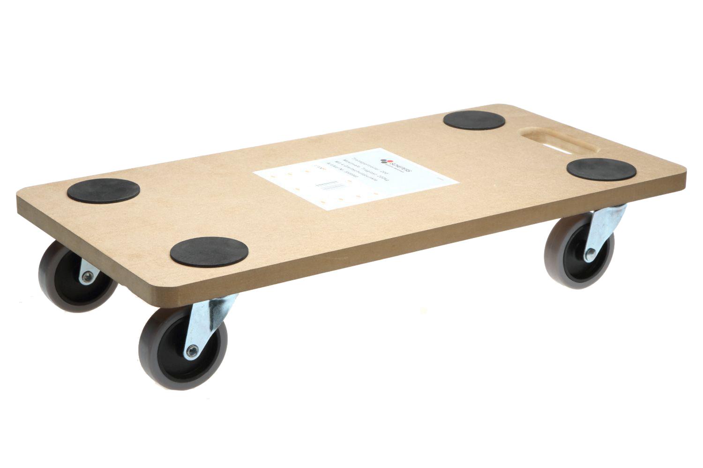 8 Stück Transportroller 200 kg Möbelroller Rollbrett Allzweckroller Roller 01