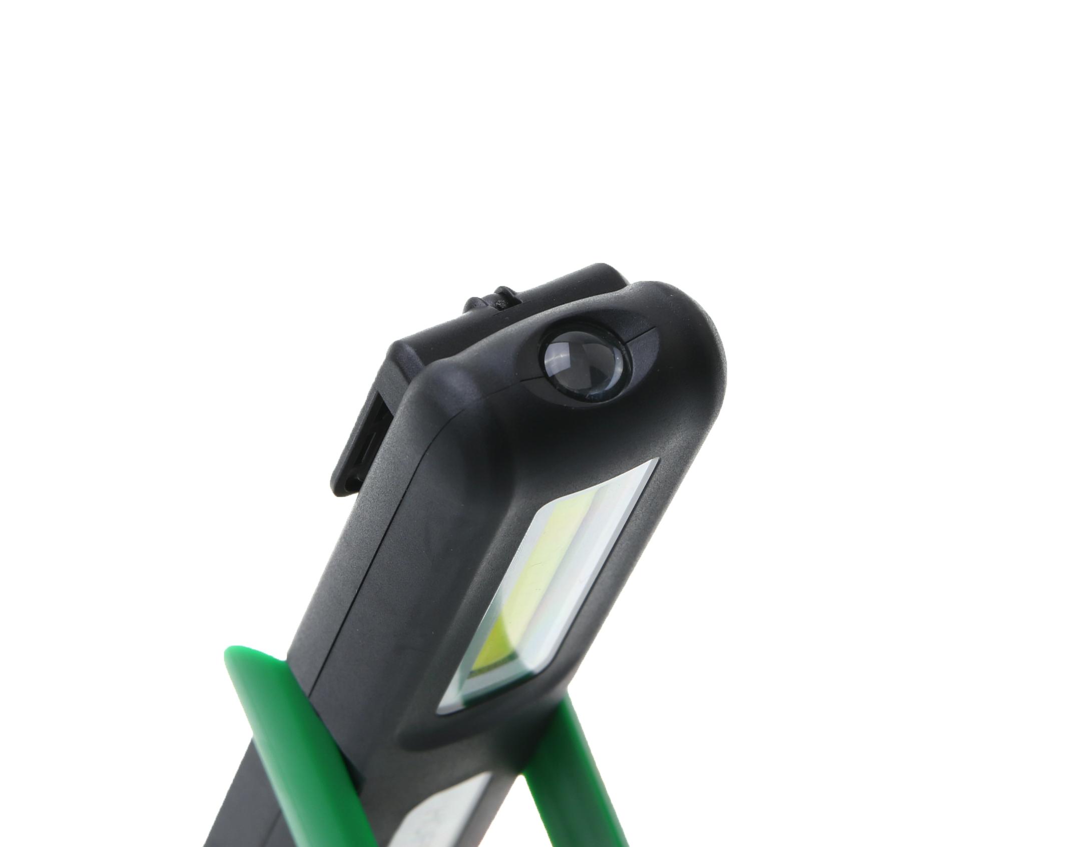 Höfftech 10597 SMD LED Akku Handlampe Arbeitsleuchte Taschenlampe Stablampe